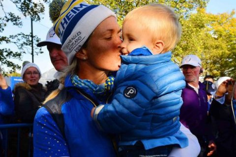 Suzann Pettersen's letter to Son