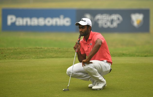Arjun Prasad of India pictured on Thursday November 14, 2019 during round one of the USD$ 400.000 Panasonic Open India at the Classic Golf and Country Club, Gurgaon, India. Picture by Paul Lakatos/Asian Tour.