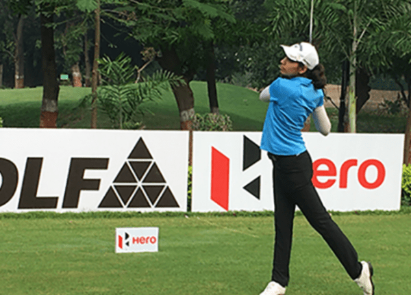 Diksha Dagar shares rd 1 lead with Ridhima Dilawari at 14th leg of Hero WPGT