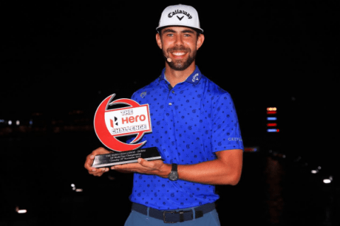Erik van Rooyen wins the Hero Challenge in Dubai
