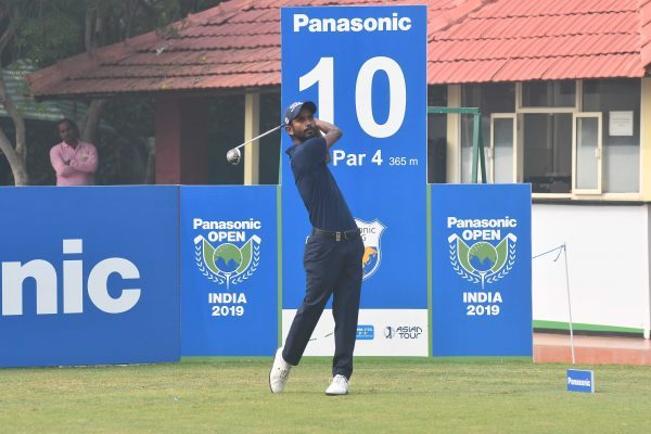Rashid Khan shot 67 in the first round of the Panasonic Open India