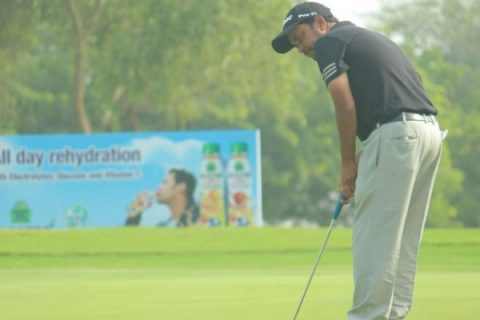 Shamim Khan leads rd 3 of Kensville Open 2019 with two shots
