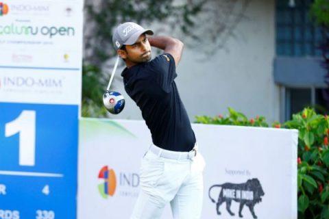 Trishul Chinnappa sares rd 2 lead at Bengaluru Open