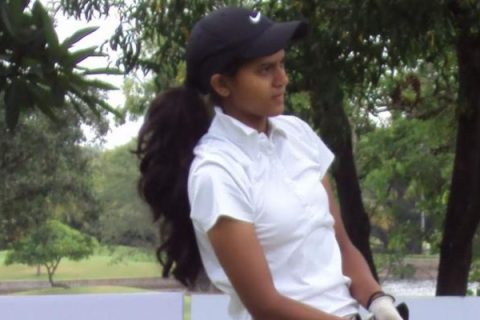 Pranavi Urs shares rd 2 lead with Tvesa and Ananya