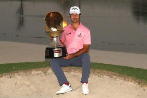Jorge Campillo at the Qatar Masters