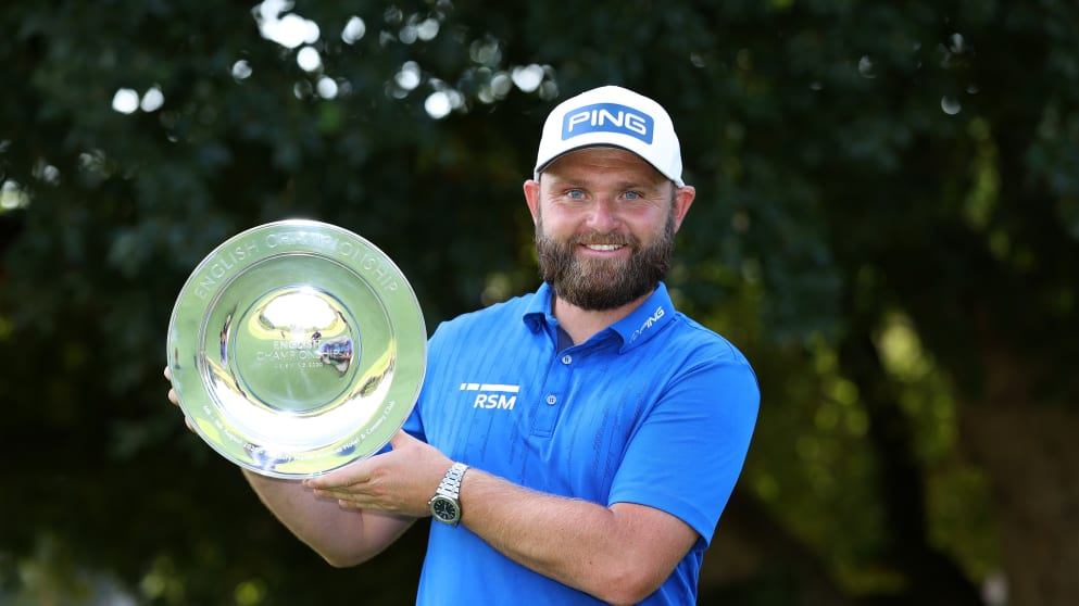 Andy Sullivan - Getty Images - European Tour - English Championship