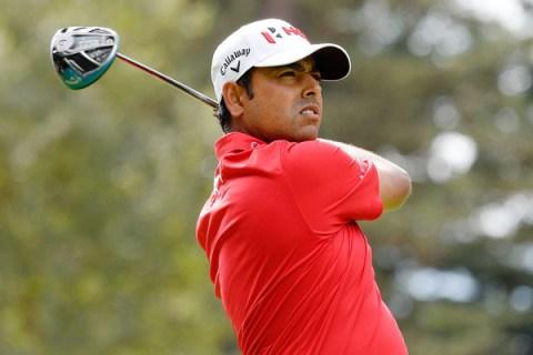 Anirban Lahiri during the Safeway Open - Getty Images - PGA TOUR