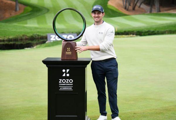 Patrick Cantlay wins ZOZO Championship