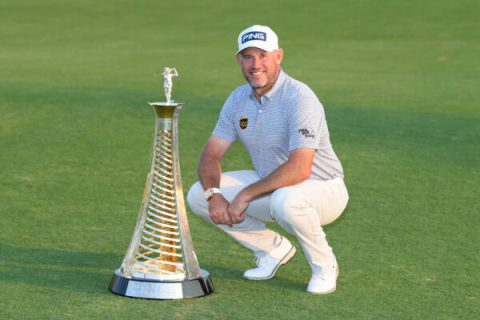 Lee Westwood wins Harry Vardon Trophy for the third time