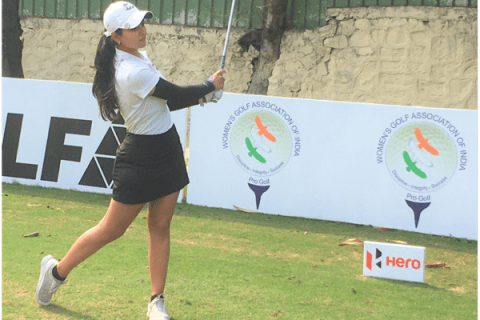 Seher Atwal playing the final round of Fourth leg of 2021