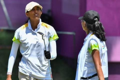 Aditi Ashok - Olympics - Getty Images