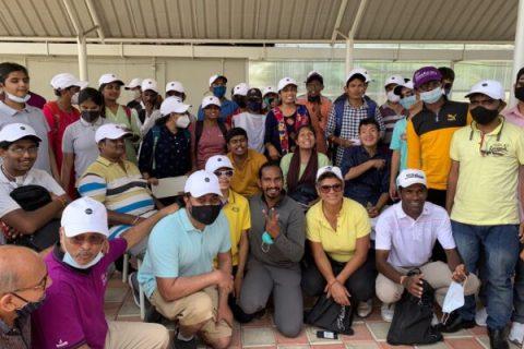 Nikki Ponappa - KGA - Blind Golf Initiative