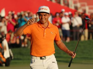 Rickie Fowler Wins Best-Mannered Person of 2017