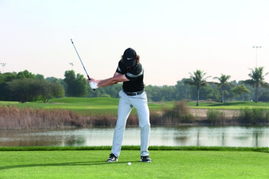 Golf swing drill   Advice from one of the world s best ball strikers     golf swing drill header