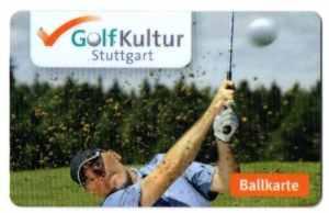Ballkarte der GolfKultur