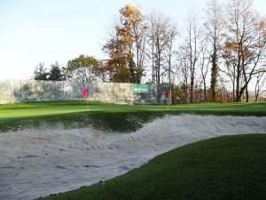 Bunker beim Chipping-Grün