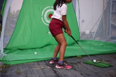 ゴルフの練習用クラブを触ったこと使ったことがありますか?