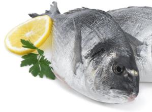 produits surgelés de la mer