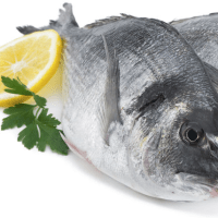 produits de la mer surgelés