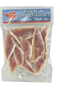 Filets de Rouget produits surgelés