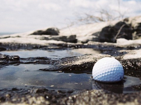 water affect golf balls