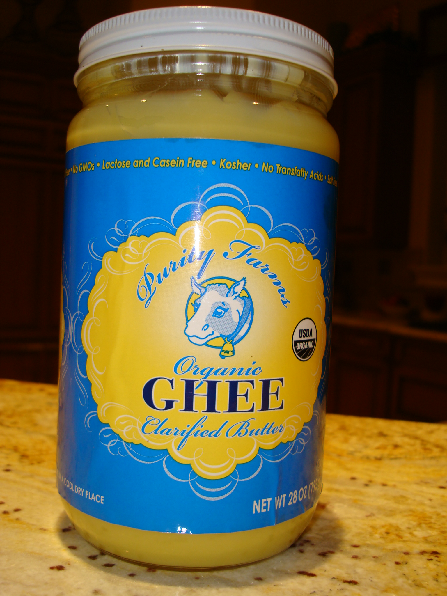 GHEE...a great tastingt butter substitute