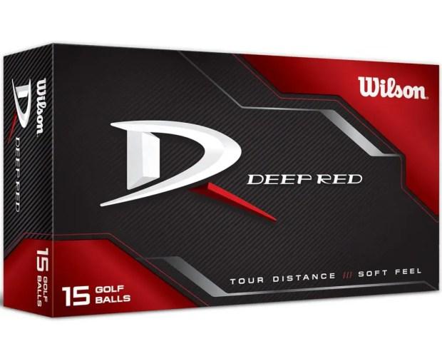 Wilson Deep Red Golf Balls