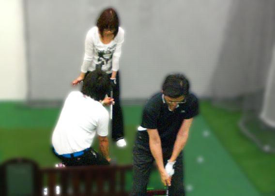 上手くなるゴルフ!快適な室内で