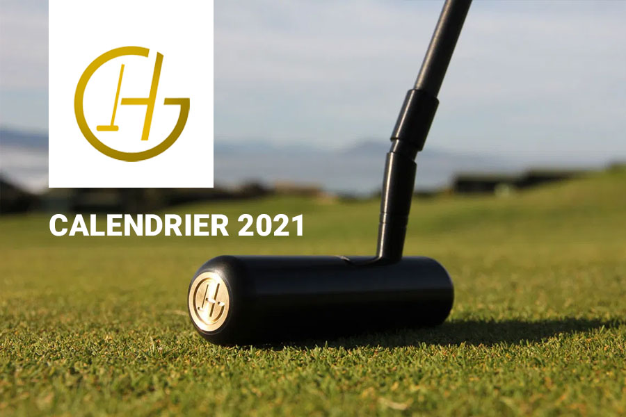 Le calendrier 2021 des fitting Golf Herria dans l'ouest.
