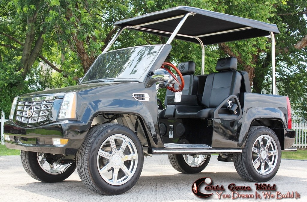 5 Examples of a Pimped Out Golf Cart
