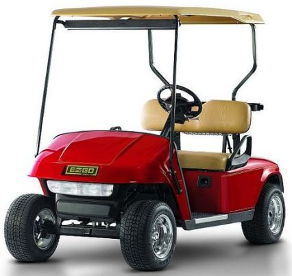 red ez go stock gas golf cart