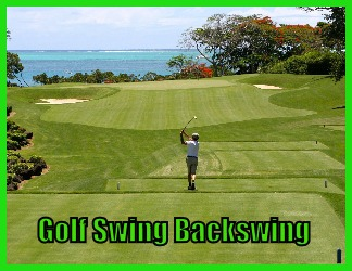 golf swing backswing