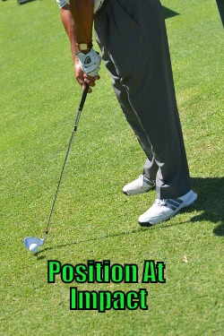 position at impact
