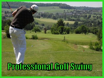 Professional Golf Swing Golf Tip Review Swing Like Pro