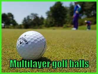 Multilayer golf balls