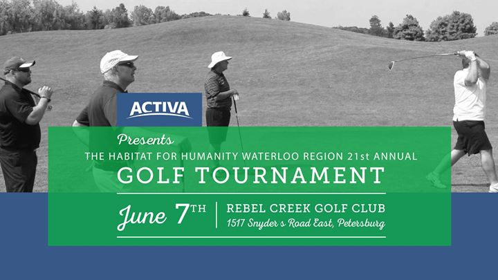 HabitatWR 2018 Golf Tournament