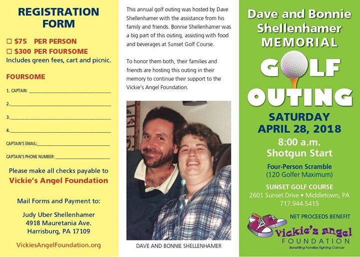 Dave and Bonnie Shellenhamer Memorial Golf Outing