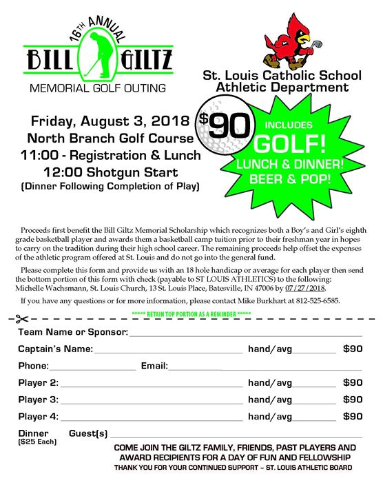 16th Annual Bill Giltz Memorial Golf Outing