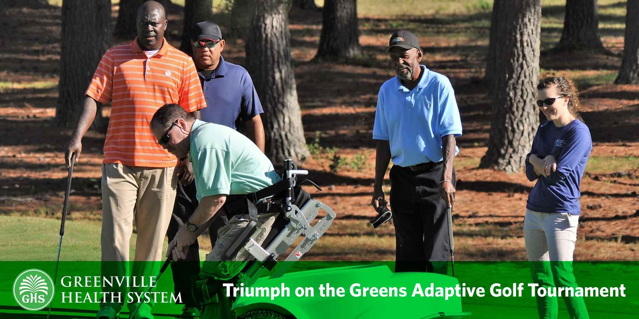 Triumph on the Greens Adaptive Golf Tournament