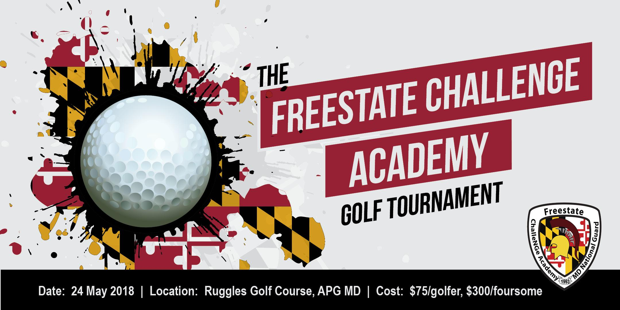 The Freestate ChalleNGe Academy Golf Tournament
