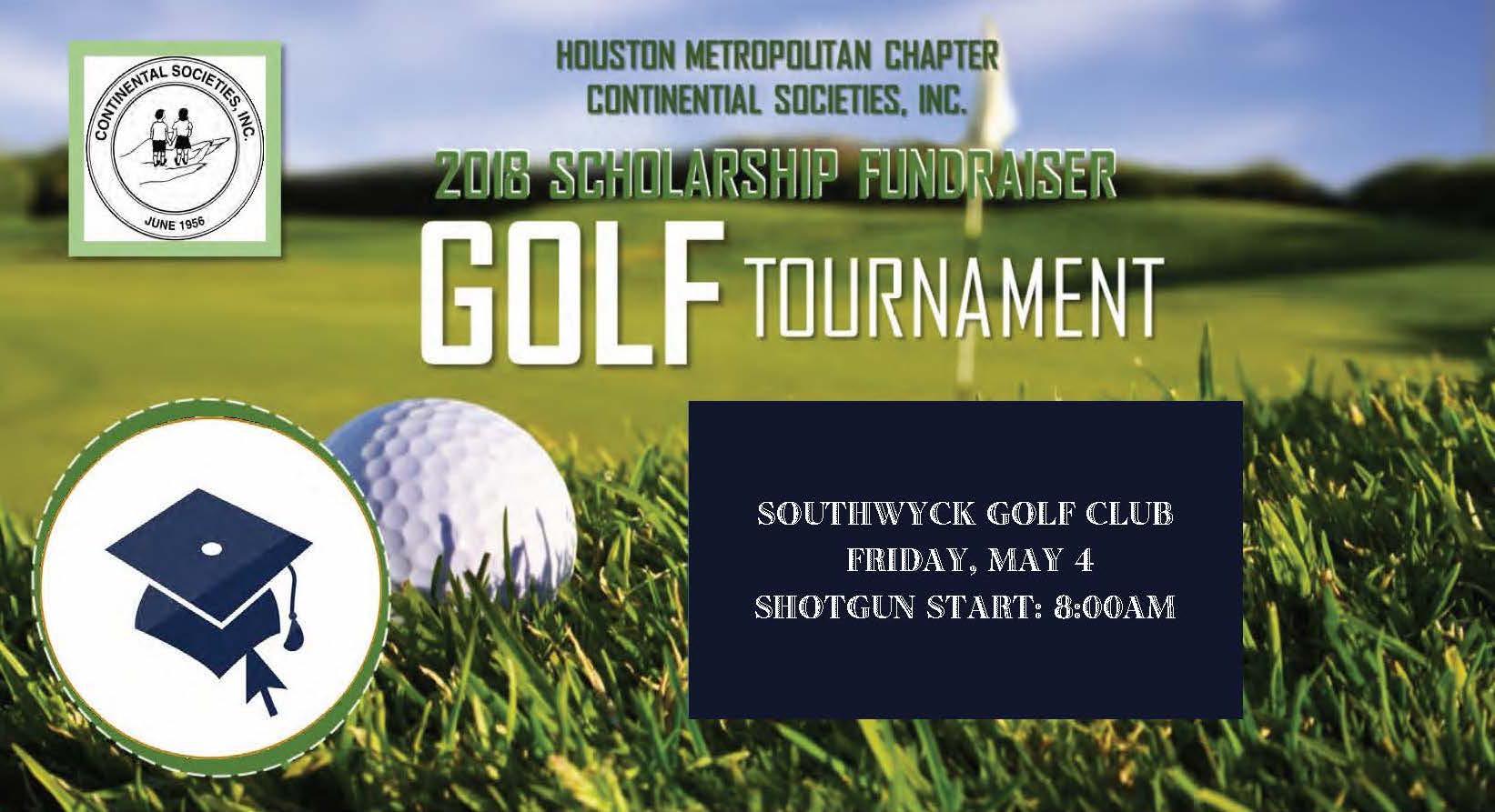 Houston Metropolitan Chapter Continental Societies, Inc. 2018 Golf Tournament