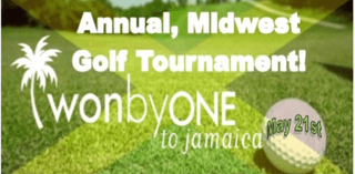 Annual Midwest, Won By One To Jamaica Golf Tournament 2018