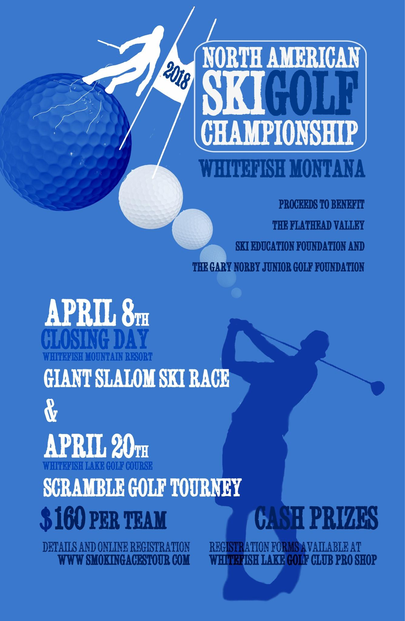 SkiGolf Scramble Tournament Last Chance Sign Up