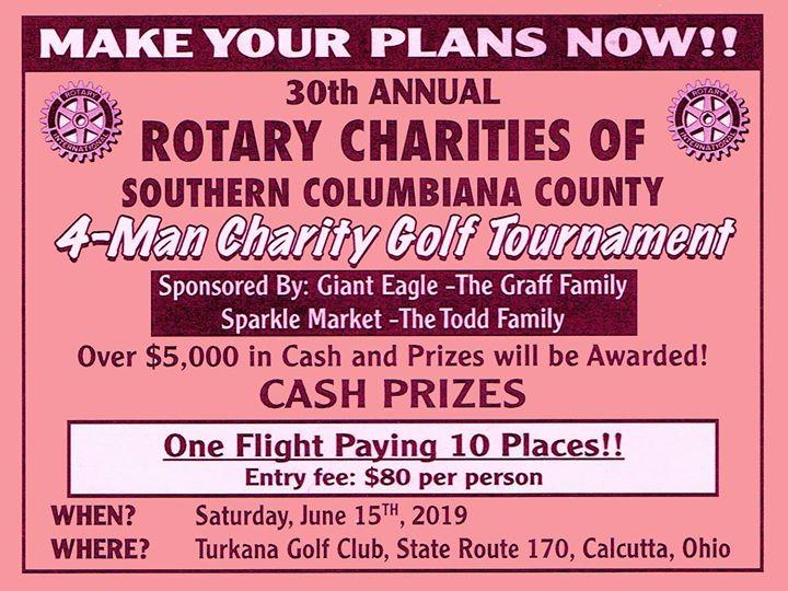 4-Man Charity Golf Tournament