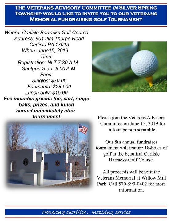 8th Annual Veterans Memorial Golf Tournament