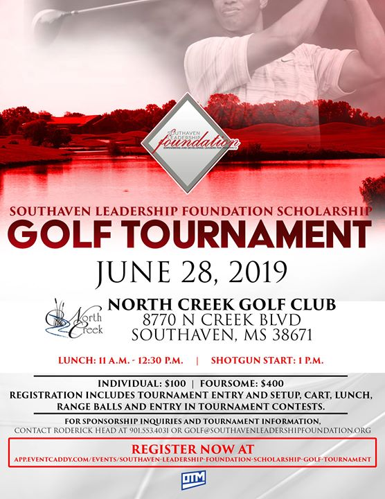 Southaven Leadership Foundation Scholarship Golf Tournament