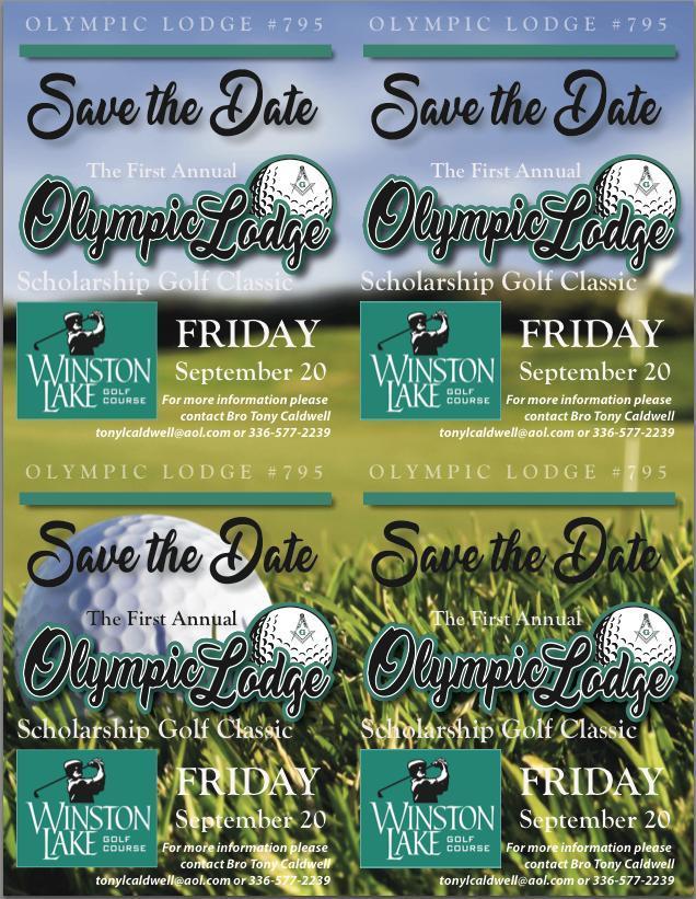 Olympic Lodge Scholarship Golf Classic