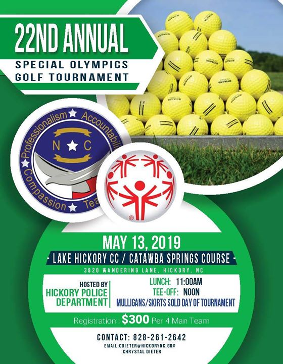22nd Annual Special Olympics Golf Tournament