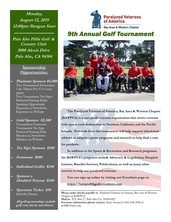 9th Annual Golf Tournament