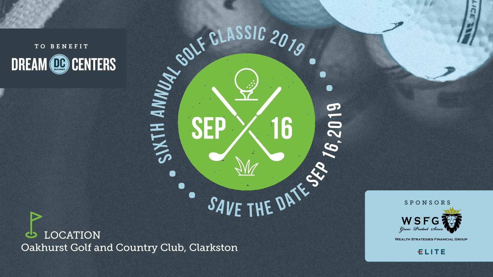 Sixth Annual Golf Classic